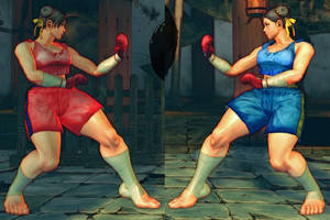 SSF4 Mod - Chun Li: Muay Thai (Boxing Gloves) by Segadordelinks