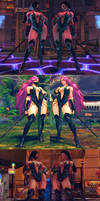 USF4 Mod - Poison: Jade Cosplay