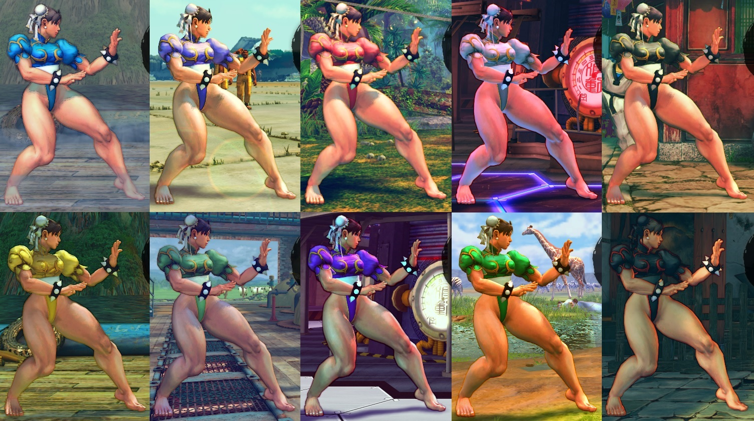 Ultra Street Fighter IV - Screenshots (NSFW) - Adult