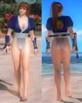 DoA5 Mod: Kasumi Skirtless
