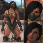 DoA5 Mod - Lisa: Jade Cosplay