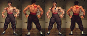 SFxT Mod - Law Bruce Lee (With Scars)