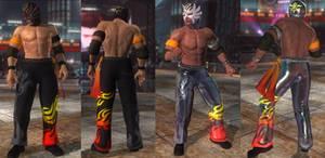 DoA5 Mod - Jann Lee: El Blaze Cosplay