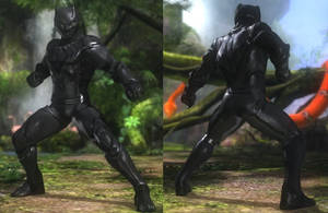 DoA5 Mod - Ein: Black Panther by Segadordelinks