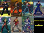 USF4 Mod - Sakura: Chae Lim Cosplay by Segadordelinks