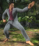DoA5 Mod - Akira as Kazuma Kiryu Barefooted