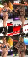 DoA5 Mod - Tina Cowgirl Bikini