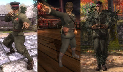 DoA5 Mod - WWII Japanese Officers Pack
