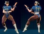 MvCI Mod - Chun Li Skirtless by Segadordelinks