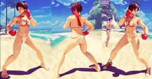 SFV Mod - Sakura Bikini by Segadordelinks
