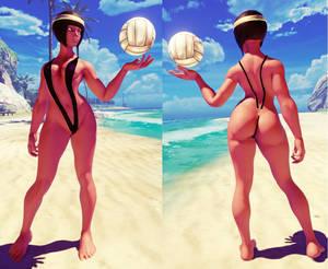 SFV Mod - Menat V Bikini