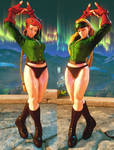 SFV Mod - Cammy Story Costume Edit