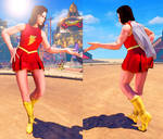 SFV Mod - Chun Li: Mary Marvel