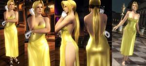 DoA5 Mod - Helena Golden Dress Destructible