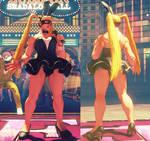 SFV Mod - R.Mika Bunny No Leggings