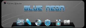 Blue Neon by Robsonbillponte666