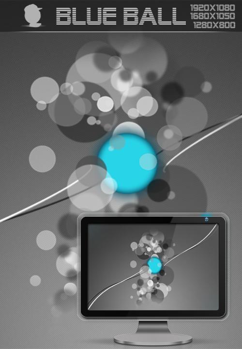Blue Ball by Robsonbillponte666