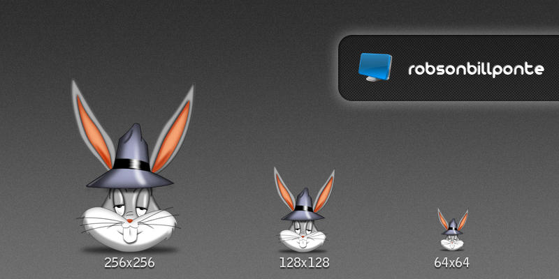 Bugs Bunny Icon by Robsonbillponte666