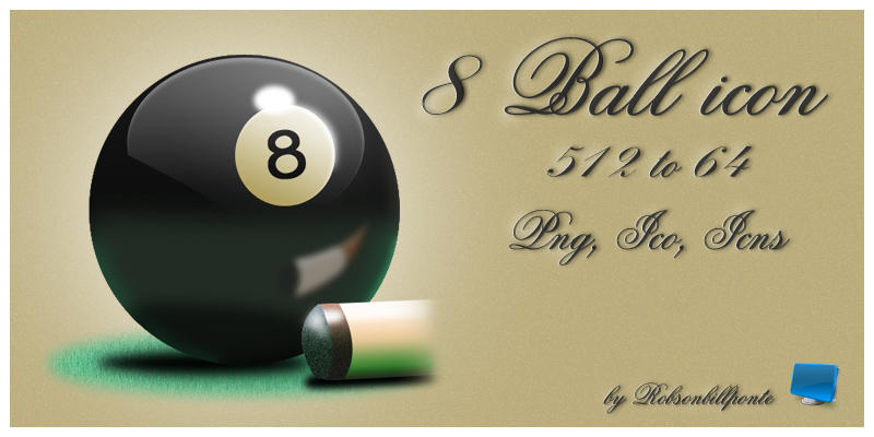 8 Ball by Robsonbillponte666
