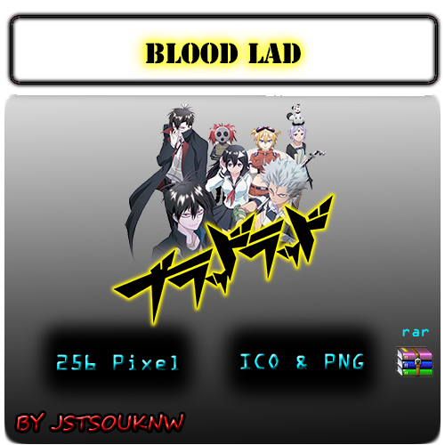 Blood  Lad - Anime Icon by jstsouknw