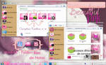 Theme For Iconpackager Beautiful Pink