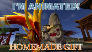 SFM GIF The Legend of Spyro: 'Homemade Gift'