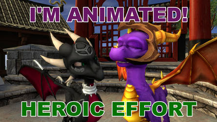 SFM GIF The Legend of Spyro: DoTD 'Heroic Effort'