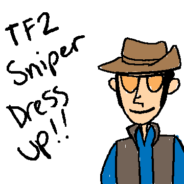 TF2 Sniper Dress-Up