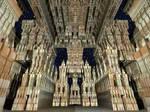 Inside the Sierpinski Temple 2