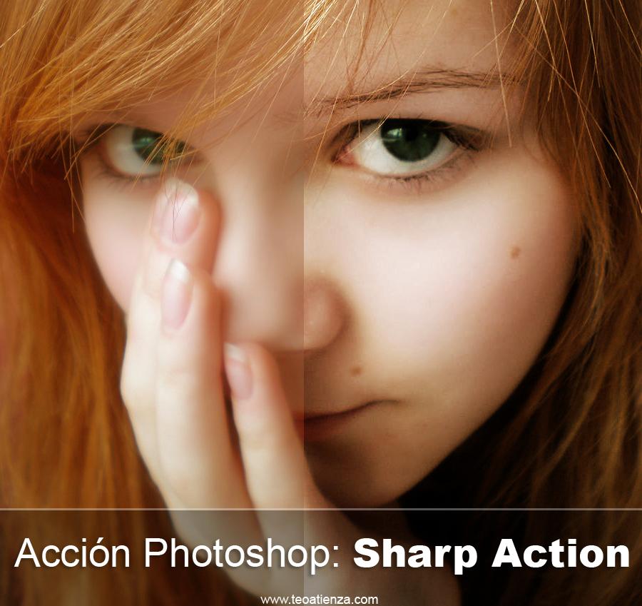Sharp Action-Photoshop action