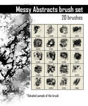 Messy Abstracts Brush Set