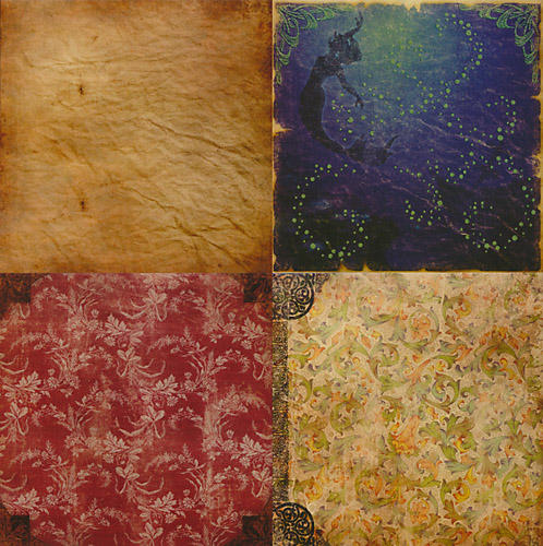 Fantasy texture pack by andrea-koupal