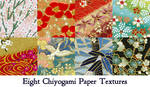 Chiyogami paper texture pack by andrea-koupal