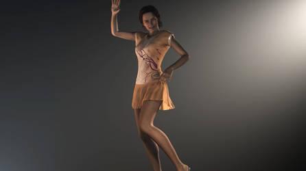 Dancing Girl V6 - test 01