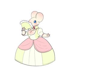 Mouse lady by Memjigoof