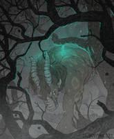 Breathing fog (animated commission) by cowboypunk