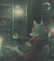Azzi (animated commission) by cowboypunk