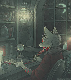 Azzi (animated commission)