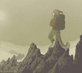 Precipice (animated commission)