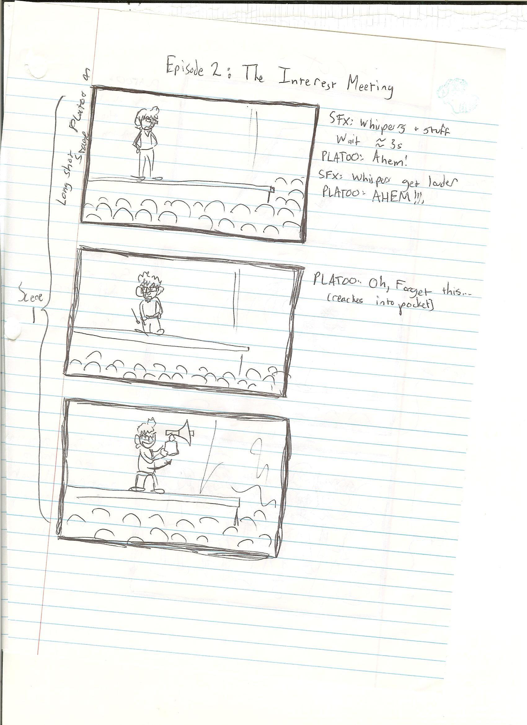 Musical Misadventures Episode 2 Storyboard by Walkdox