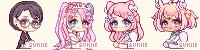 Cupcake Icons by Sukiie