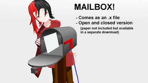 Mailbox for MMD [+Download]