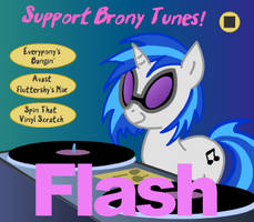 Flash Project 2: Brony Tunes (With Music) by Bloomins