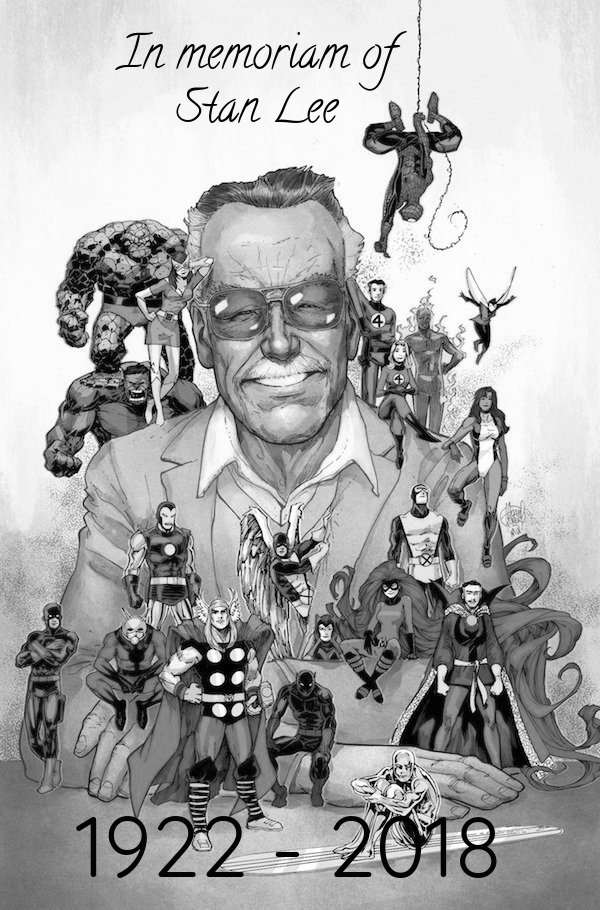 Today Is The 2nd Anniversary Of STAN LEE's Death..