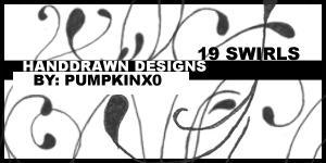 19 Swirls by pumpkinx0
