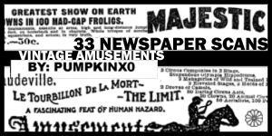 33 Newspaper Scans by pumpkinx0