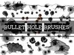 BULLET HOLE GIMP BRUSHES