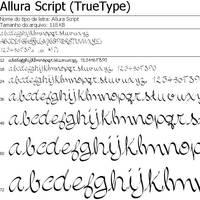 Allura Script by Asbelial