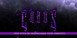 Text Style - Chaos