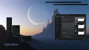 Openbox theme IcyBlack